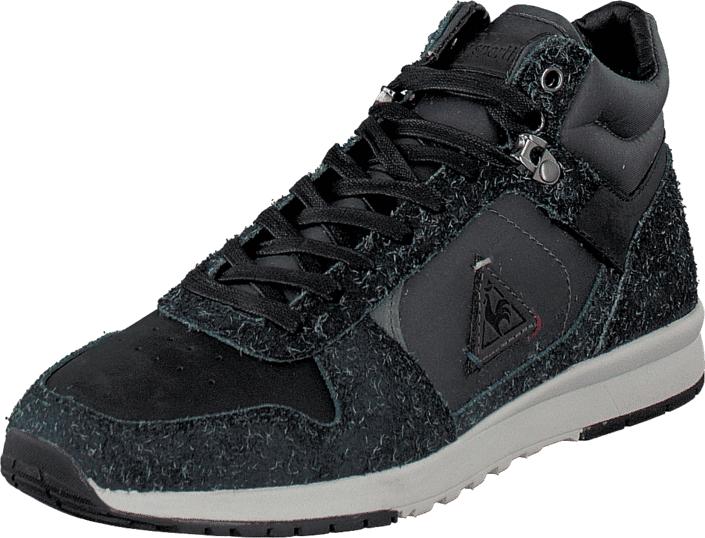 Le Coq Sportif Gaspar Shoot Black, Kengät, Sneakerit ja urheilukengät, Korkeavartiset tennarit, Musta, Miehet, 40
