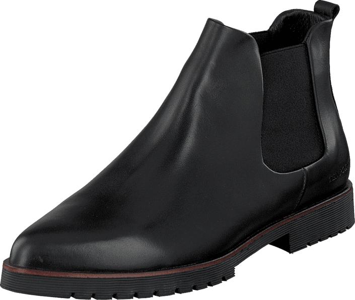 Ten Points Amanda 230003 Black, Kengät, Bootsit, Chelsea boots, Harmaa, Musta, Naiset, 37