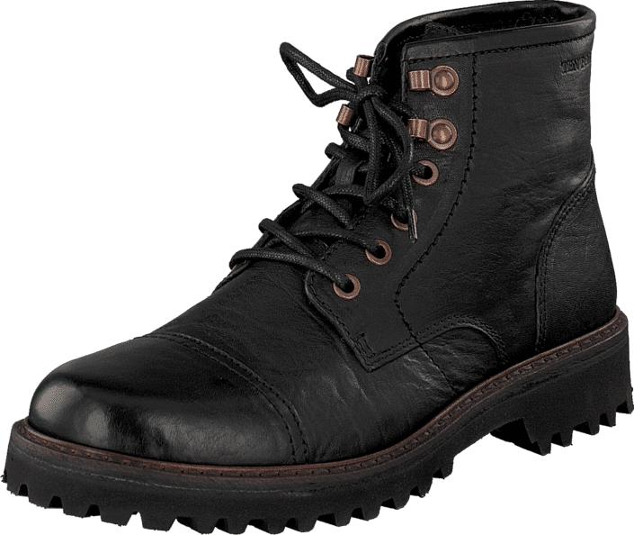 Ten Points Beaumont 230020 Black, Kengät, Bootsit, Kengät, Musta, Miehet, 40