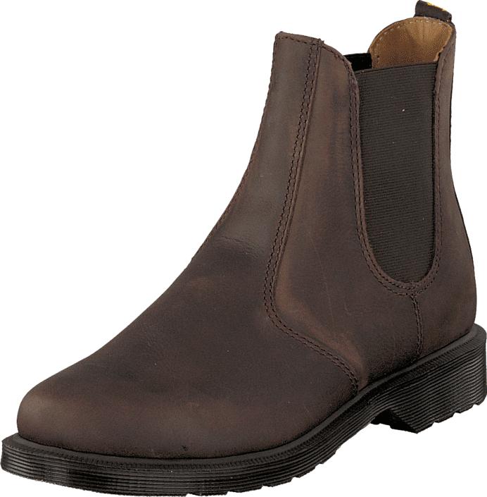 Dr Martens Laura Chelsea Dk Brown, Kengät, Bootsit, Chelsea boots, Ruskea, Naiset, 36