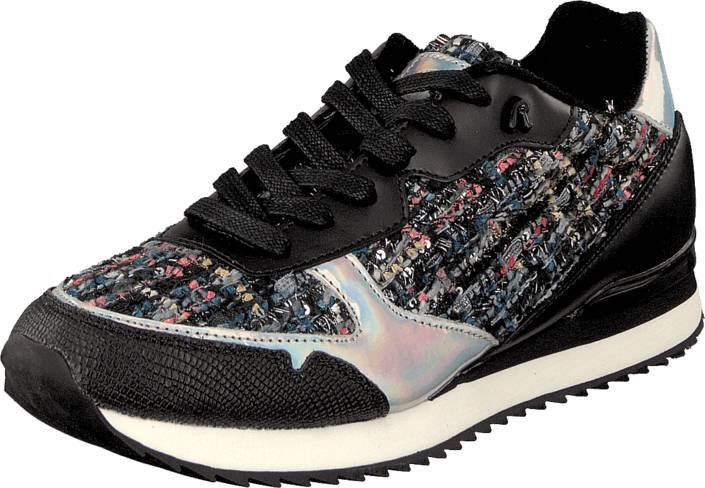 Replay Vollen Blue/Silver Blue/Silver, Kengät, Sneakerit ja urheilukengät, Sneakerit, Beige, Sininen, Hopea, Naiset, 36