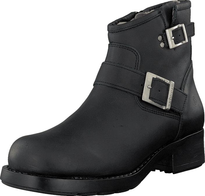 Sixtyseven Tyra 76594 Moto Black, Kengät, Bootsit, Chelsea boots, Musta, Naiset, 37