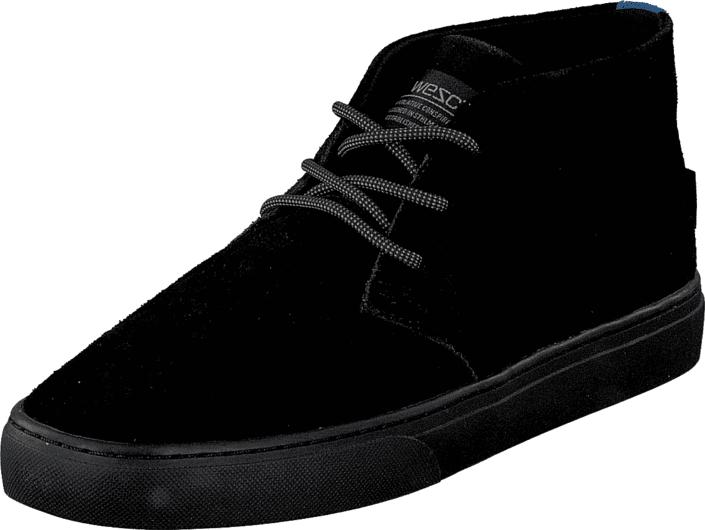 WeSC Chukka Sneaker Black, Kengät, Sandaalit ja tohvelit, Tohvelit, Musta, Miehet, 41