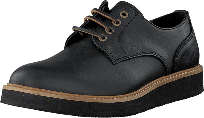 WeSC Blucher Black, Kengät, Matalapohjaiset kengät, Juhlakengät, Musta, Unisex, 41