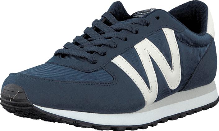 WeSC Post Runner Mood Indigo, Kengät, Sneakerit ja urheilukengät, Sneakerit, Turkoosi, Sininen, Naiset, 36