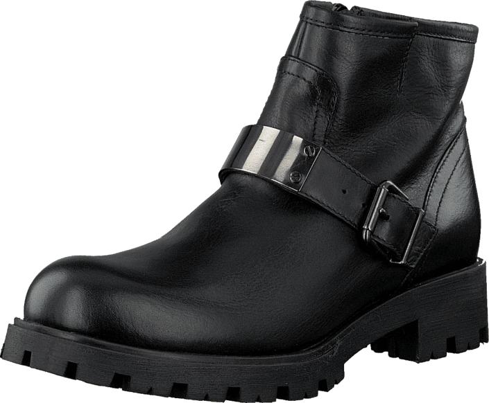 Unisa Idra Black, Kengät, Bootsit, Chelsea boots, Musta, Naiset, 36