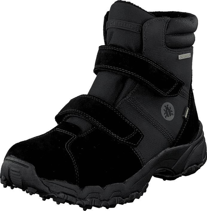 Icebug RYUM 2 BUGrip® Black, Kengät, Bootsit, Vaelluskengät, Musta, Miehet, 44