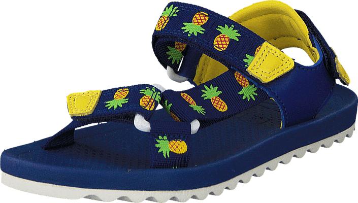 Clarks Bondi Bay Inf Blue Combi, Kengät, Sandaalit ja tohvelit, Sandaalit, Sininen, Unisex, 28