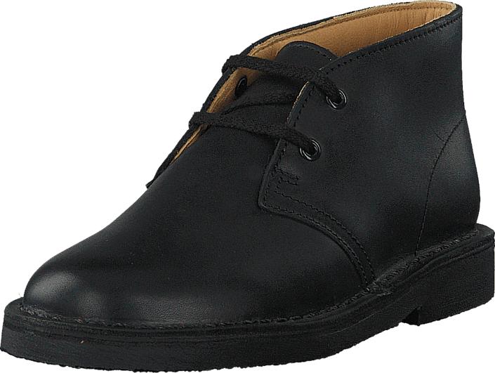 Clarks Desert Boot Boy Inf Black, Kengät, Bootsit, Chukka boots, Musta, Unisex, 28