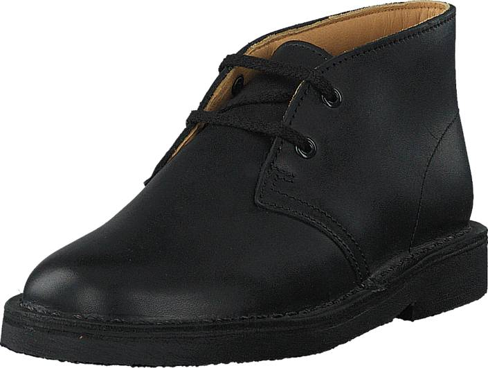 Clarks Desert Boot Boy Inf Black, Kengät, Bootsit, Chukka boots, Musta, Unisex, 29