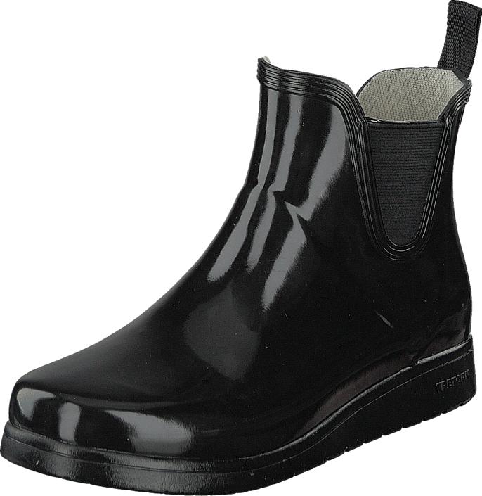 Tretorn Charlie Classic Black, Kengät, Bootsit, Chelsea boots, Musta, Naiset, 38