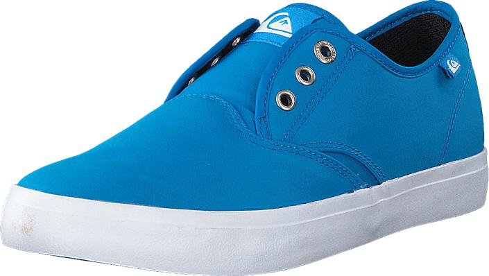 Quiksilver Qs Shorebreak Nylo M Shoe Blue/Blue/White, Kengät, Matalapohjaiset kengät, Kangaskengät, Turkoosi, Sininen, Miehet, 39