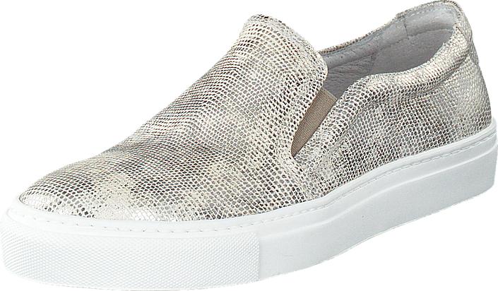 Billi Bi 21990 Silver White, Kengät, Matalapohjaiset kengät, Slip on, Valkoinen, Naiset, 37