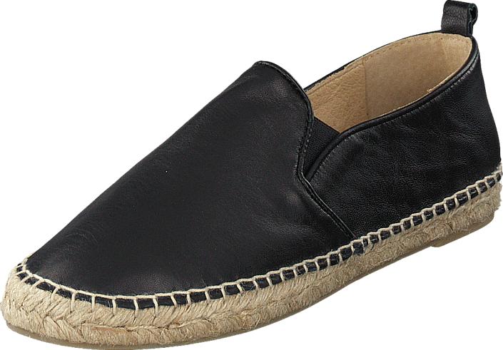 Billi Bi 4102 Black Nappa, Kengät, Matalapohjaiset kengät, Slip on, Musta, Naiset, 36