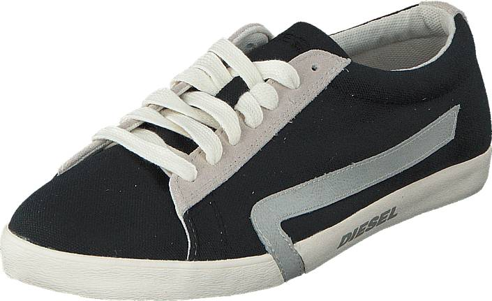 Diesel Bikkren Canvas Black/ Pumice Stone, Kengät, Sneakerit ja urheilukengät, Sneakerit, Harmaa, Miehet, 40