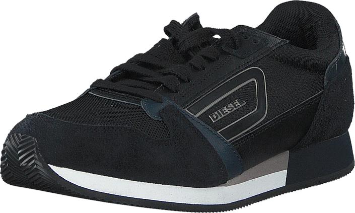 Diesel Owens Black/ Indigo, Kengät, Sneakerit ja urheilukengät, Sneakerit, Musta, Miehet, 40