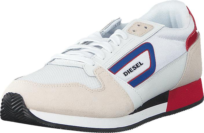 Diesel Owens White/ Formula One, Kengät, Sneakerit ja urheilukengät, Sneakerit, Valkoinen, Miehet, 42