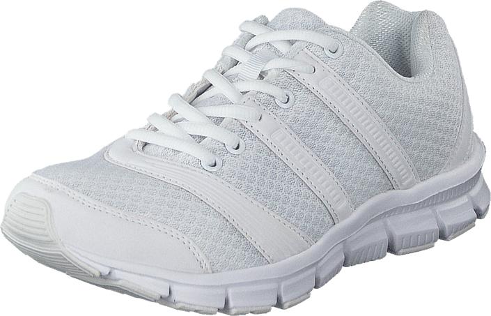 Polecat 435-2325 White, Kengät, Sneakerit ja urheilukengät, Urheilukengät, Valkoinen, Unisex, 36