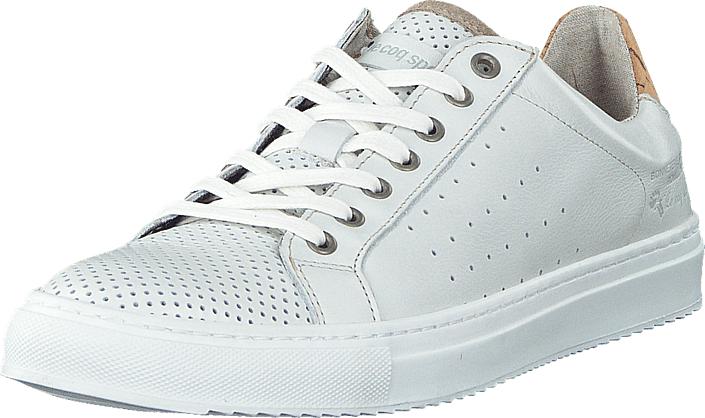 Le Coq Sportif Ariane Low Bright White New, Kengät, Sneakerit ja urheilukengät, Varrettomat tennarit, Valkoinen, Naiset, 37
