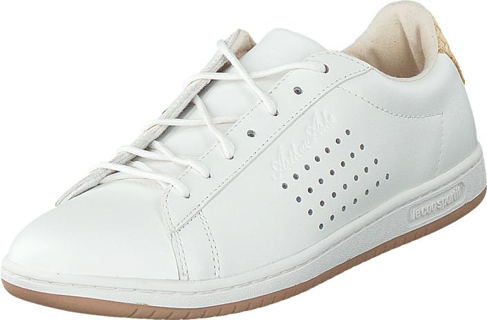 Le Coq Sportif Arthur Ashe Marshmallow, Kengät, Sneakerit ja urheilukengät, Varrettomat tennarit, Valkoinen, Unisex, 36
