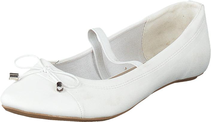 Duffy 92-16437 Kids White, Kengät, Matalapohjaiset kengät, Ballerinat, Valkoinen, Unisex, 31