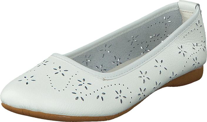 Wildflower Farsund 01 White, Kengät, Matalapohjaiset kengät, Ballerinat, Valkoinen, Unisex, 31