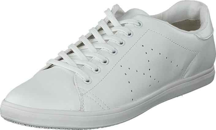 Tamaris 1-1-23605-26 100 White, Kengät, Sneakerit ja urheilukengät, Sneakerit, Valkoinen, Naiset, 38