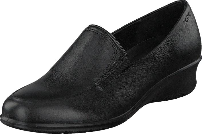 Ecco Felicia Black, Kengät, Matalapohjaiset kengät, Loaferit, Musta, Naiset, 40