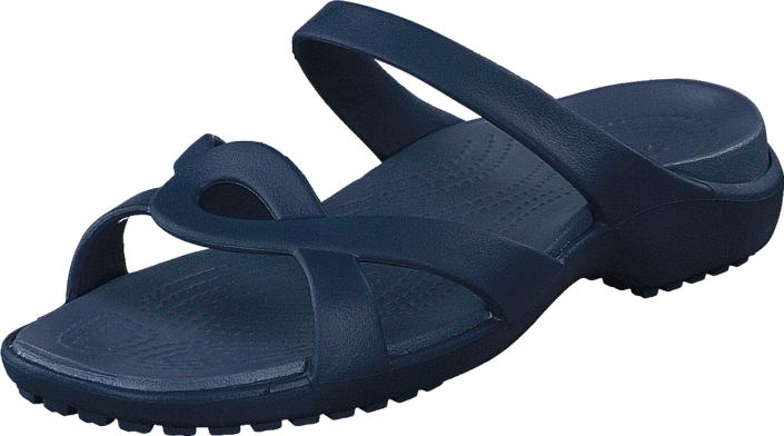Crocs Meleen Twist Sandal Navy/Storm, Kengät, Sandaalit ja tohvelit, Sandaalit, Sininen, Naiset, 34
