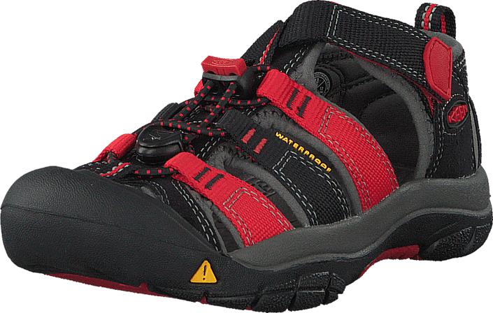 Keen Newport H2-Kids Black/Racing Red Multi, Kengät, Sandaalit ja tohvelit, Sporttisandaalit, Harmaa, Musta, Unisex, 24