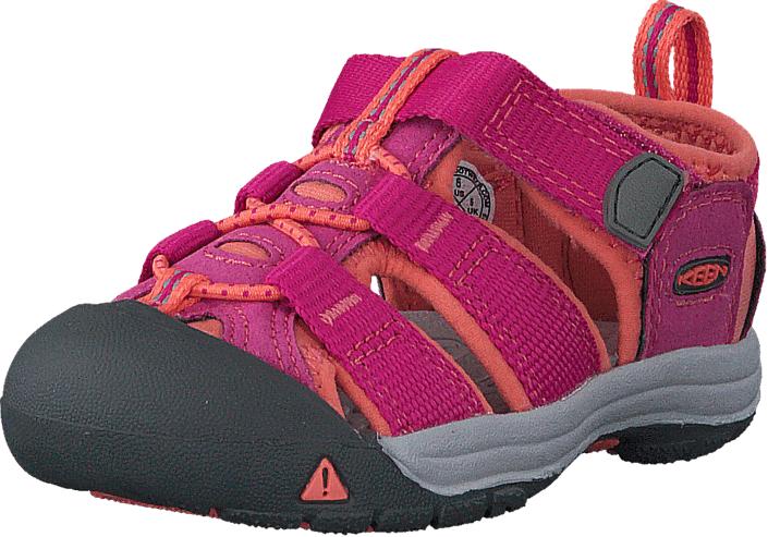 Keen Newport H2-Tots Very Berry/Fusion Coral, Kengät, Sneakerit ja urheilukengät, Tennarit , Punainen, Vaaleanpunainen, Unisex, 22