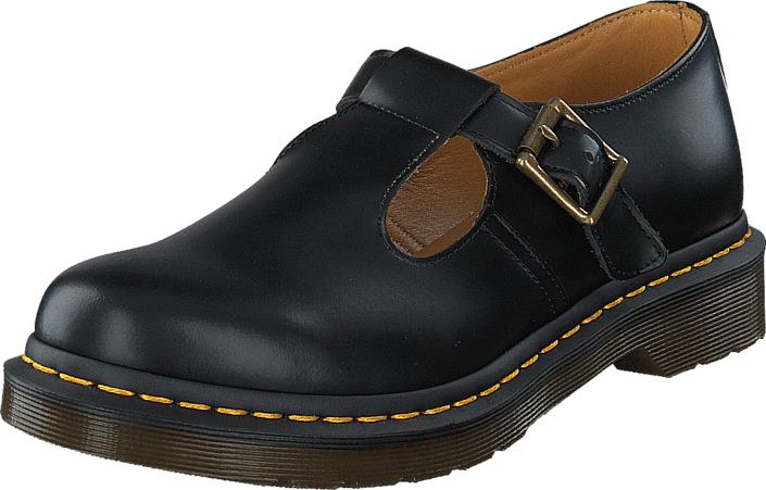 Dr Martens Polley Black, Kengät, Matalapohjaiset kengät, Juhlakengät, Musta, Naiset, 38