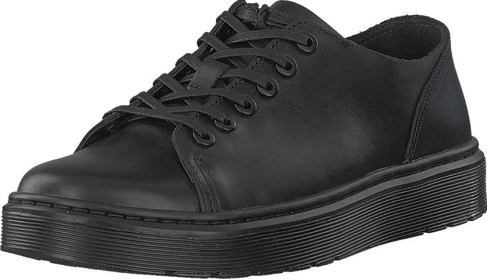 Dr Martens Dante Black, Kengät, Matalapohjaiset kengät, Juhlakengät, Musta, Unisex, 42