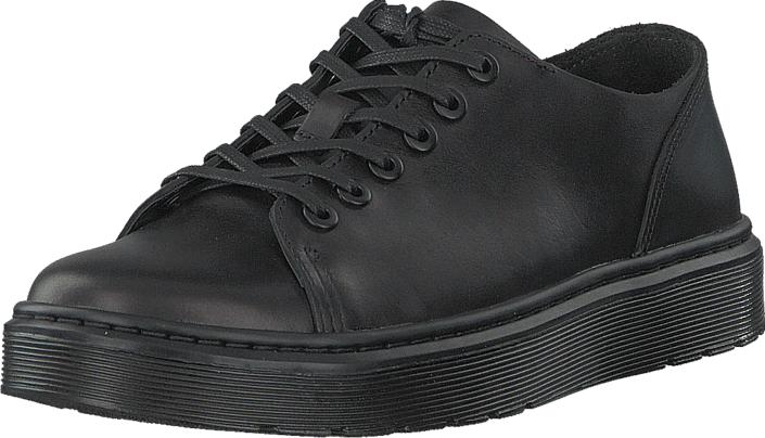 Dr Martens Dante Black, Kengät, Matalapohjaiset kengät, Juhlakengät, Musta, Unisex, 45