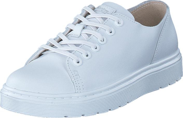 Dr Martens Dante White, Kengät, Matalapohjaiset kengät, Kävelykengät, Valkoinen, Unisex, 37