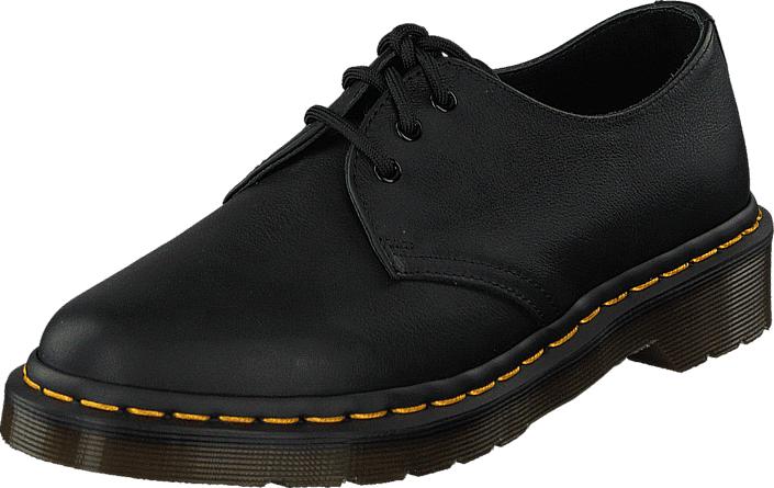 Dr Martens 1461 Virginia Black, Kengät, Matalapohjaiset kengät, Juhlakengät, Musta, Naiset, 40