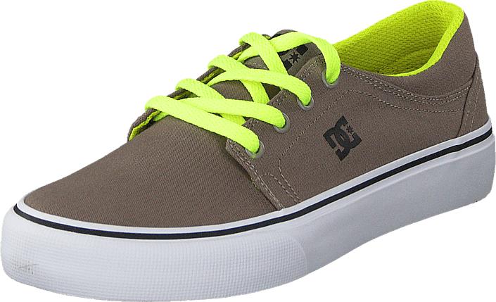 DC Shoes Dc Kids Trase Tx Shoe Taupe, Kengät, Sneakerit ja urheilukengät, Varrettomat tennarit, Ruskea, Unisex, 29