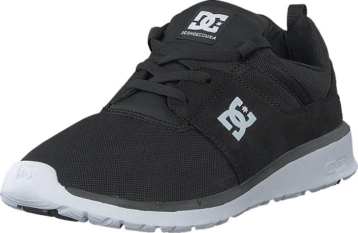 DC Shoes Dc Heathrow M Shoe Black/White, Kengät, Sneakerit ja urheilukengät, Varrettomat tennarit, Musta, Miehet, 45