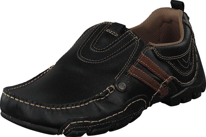Dockers by Gerli 20AY005-110132 Black, Kengät, Matalapohjaiset kengät, Kävelykengät, Musta, Miehet, 40