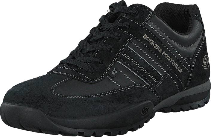 Dockers by Gerli 36HT001-204120 Black, Kengät, Sneakerit ja urheilukengät, Tennarit , Musta, Miehet, 42