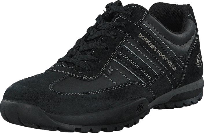 Dockers by Gerli 36HT001-204120 Black, Kengät, Sneakerit ja urheilukengät, Tennarit , Musta, Miehet, 43