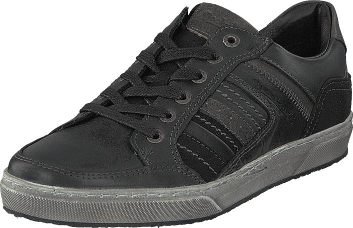 Dockers by Gerli 38PL001-120100 Black, Kengät, Sneakerit ja urheilukengät, Sneakerit, Musta, Miehet, 40