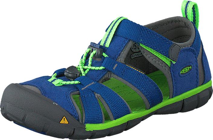 Keen Seacamp II Cnx-Jr True Blue/Jasmine Green, Kengät, Sandaalit ja tohvelit, Sporttisandaalit, Sininen, Harmaa, Unisex, 32