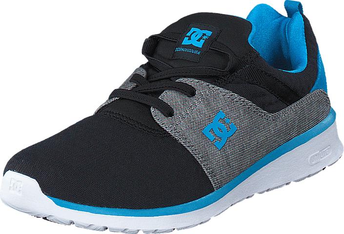 DC Shoes Heathrow TX SE Heather Grey/ Black, Kengät, Sneakerit ja urheilukengät, Urheilukengät, Musta, Unisex, 29