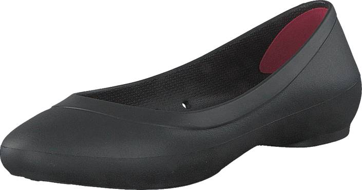 Crocs Crocs Lina Flat W Black, Kengät, Matalapohjaiset kengät, Ballerinat, Harmaa, Naiset, 36