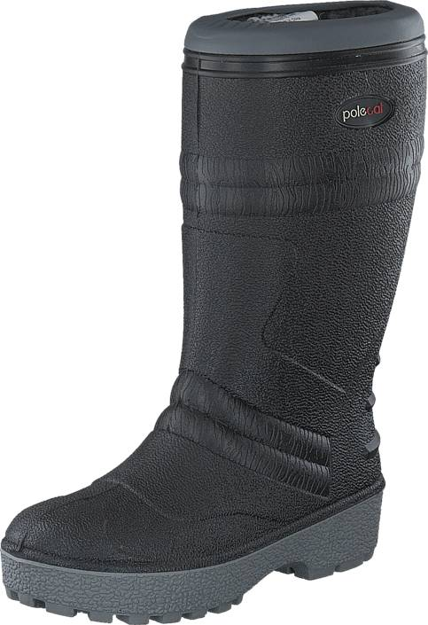 Polecat 439-7010 Wool Lining Black, Kengät, Saappaat ja saapikkaat, Pitkävartiset kumisaappaat, Harmaa, Unisex, 43