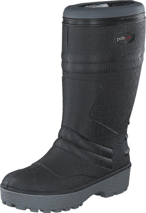 Polecat 439-7010 Wool Lining Black, Kengät, Saappaat ja saapikkaat, Pitkävartiset kumisaappaat, Harmaa, Unisex, 46