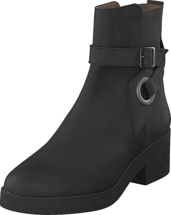 Sixtyseven Wilder Oleato Black, Kengät, Bootsit, Kengät, Musta, Naiset, 37