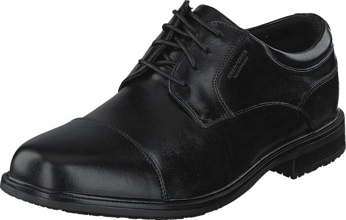 Rockport ED 2 Captoe Black, Kengät, Matalapohjaiset kengät, Juhlakengät, Musta, Harmaa, Miehet, 43