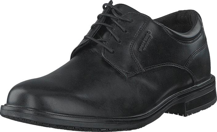 Rockport ED2 Plaintoe Black, Kengät, Matalapohjaiset kengät, Juhlakengät, Musta, Miehet, 41